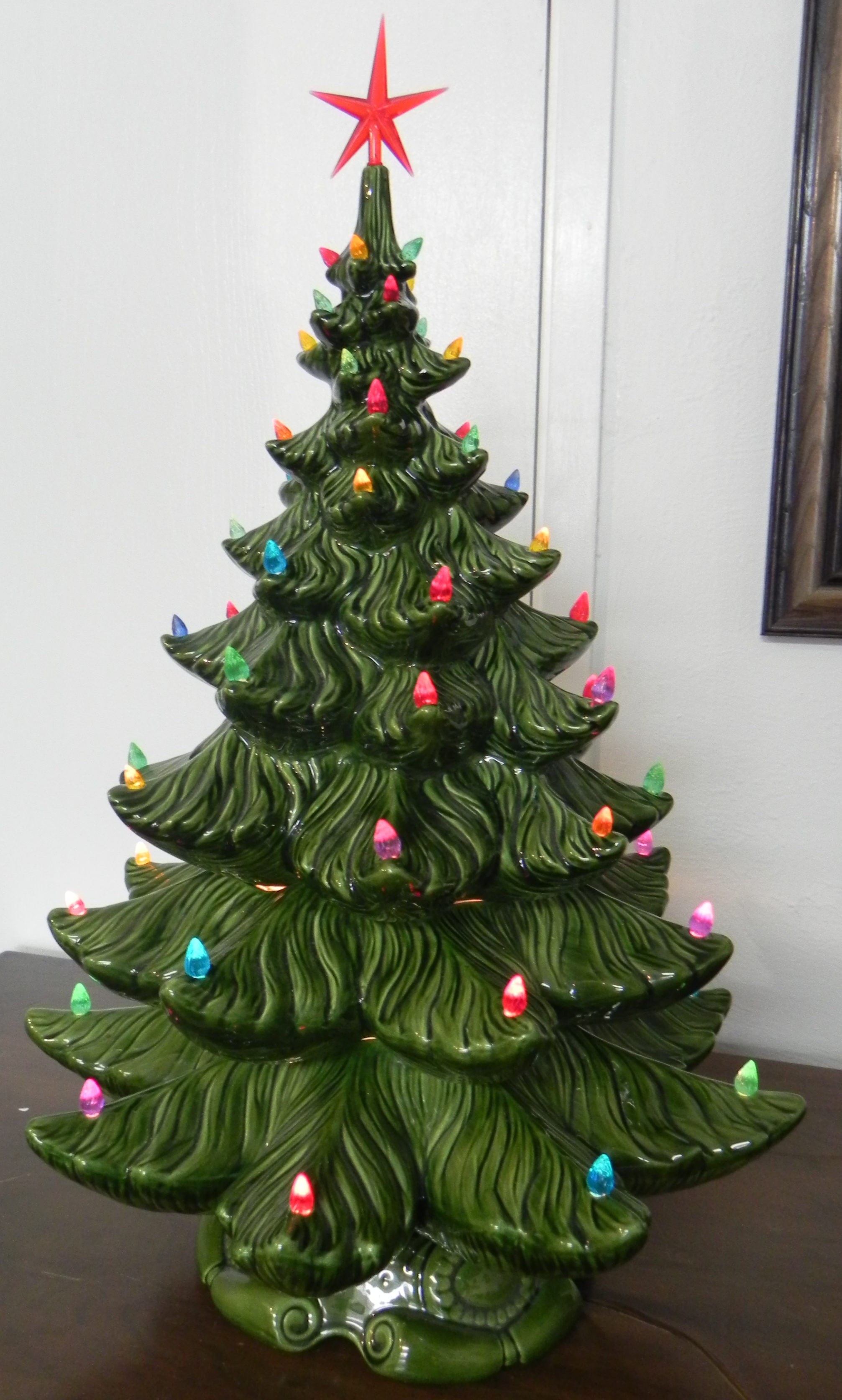 Large Ceramic Christmas Tree Wanda S Works